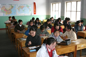 Most Mandarin is learned in class